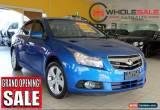 Classic 2009 Holden Cruze JG JG CDX Sedan 4dr Man 5sp 1.8i [May] Blue Manual 5sp M for Sale